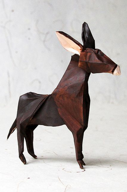 origami magarac