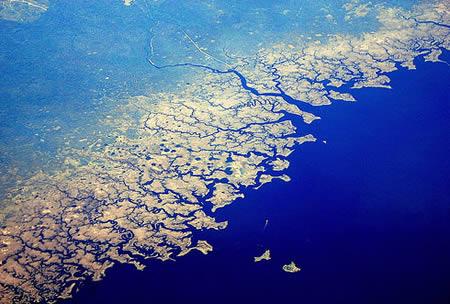 obala - fraktal